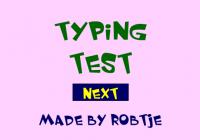 Typing test : test de vitesse