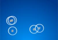 Les lettres dans les bulles