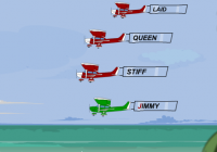 Les bannières des avions